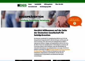 suizidprophylaxe.de