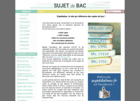 sujetdebac.free.fr