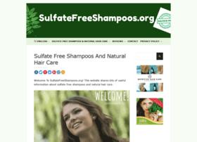sulfatefreeshampoos.org