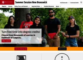 Summer.rutgers.edu