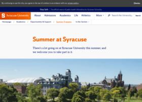 summer.syr.edu