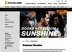 summer.uidaho.edu