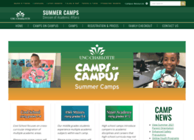 summercamps.uncc.edu