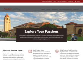 summerinstitutes.stanford.edu