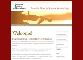 summermusicfromgreensboro.net
