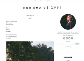 summerof1999.blogspot.com