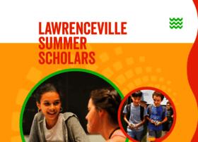 summerscholars.lawrenceville.org