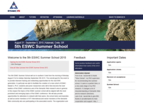 summerschool2015.eswc-conferences.org
