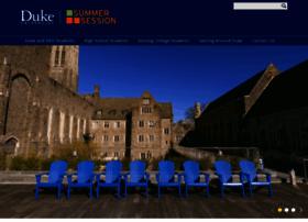 summersession.duke.edu