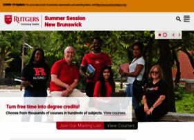 summersession.rutgers.edu