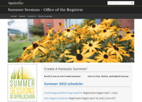 summersessions.appstate.edu