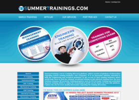 summertrainings.com