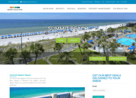 summitbeachresort.com