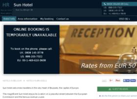 sun-hotel-brussels.h-rez.com