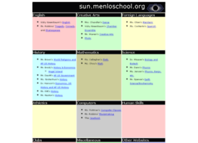 sun.menloschool.org