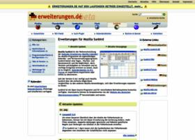 sunbird.erweiterungen.de