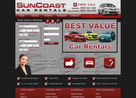 suncoastcarrentals.com