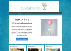 sundaepaper.com