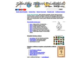 sundayschoolprintables.com