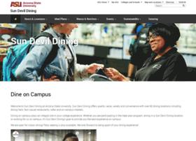 sundevildining.asu.edu