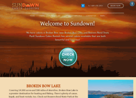 sundowncabinrentals.com