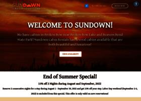 sundowncabinrentals.com
