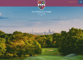 sundridgeparkgolfclub.co.uk