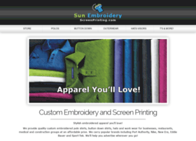 Sunembroideryscreenprinting.com
