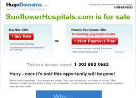 sunflowerhospitals.com