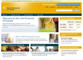 sunlifeofcanada.co.uk