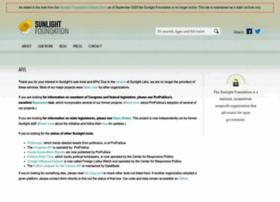 sunlightlabs.com
