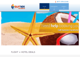 sunmexvacations.com