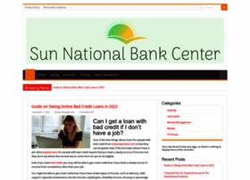 sunnationalbankcenter.com