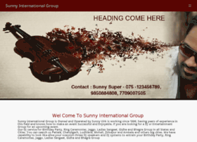 sunnyinternationalgroup.com