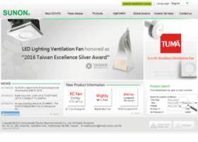 sunon.com.tw