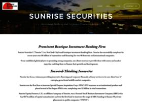 sunrisecorp.com