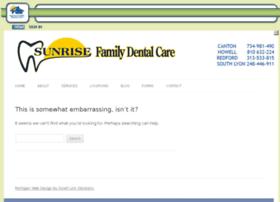 sunrisefamilydentalcarecan.mydentalvisit.com