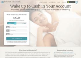 sunrisefinancial.dailyfinancegroup.com