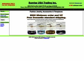 sunriseusatradinginc.com