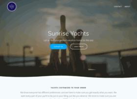 sunriseyachts.com