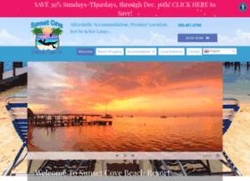 sunsetcovebeachresort.com