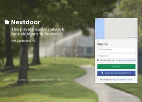 sunsetfortlauderdale.nextdoor.com