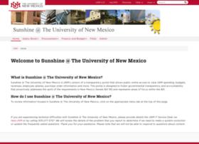 sunshine.unm.edu