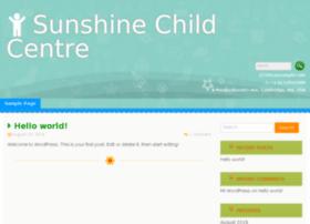 sunshinechildcentre.com