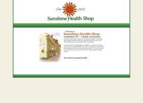 sunshinehealthshop.co.uk