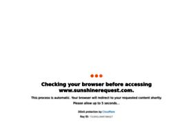 sunshinerequest.com