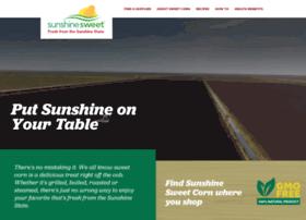 sunshinesweetcorn.com