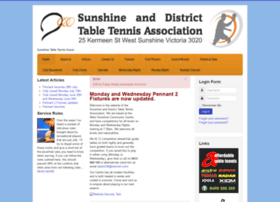 sunshinetabletennis.com