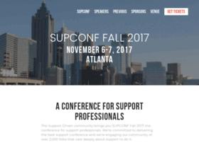 supconf.supportdriven.com