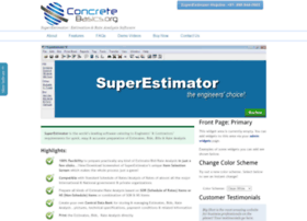 superestimator.concretebasics.org